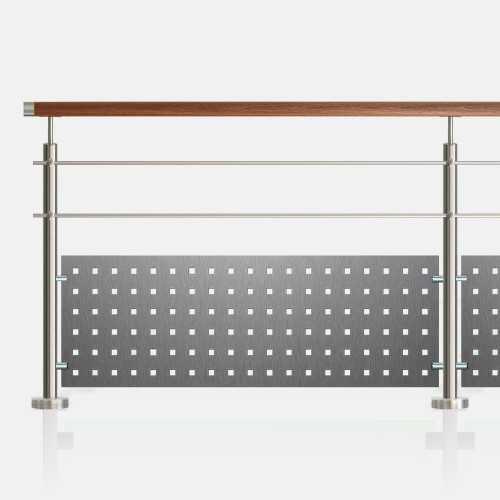 kit garde corps lisses tubes ou barres inoxkit. Black Bedroom Furniture Sets. Home Design Ideas