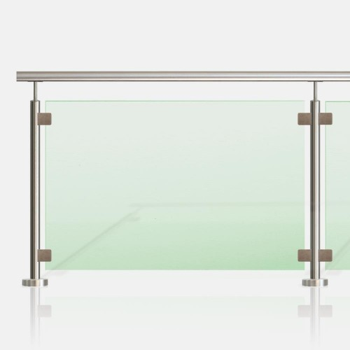 kit garde corps en verre rambarde et balustrade verre inoxkit. Black Bedroom Furniture Sets. Home Design Ideas