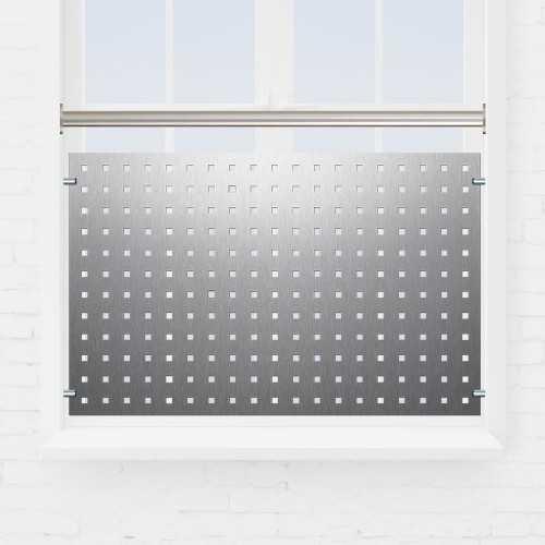 Kit balustrade fenêtre tôle perforée