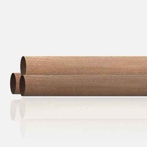 Main courante bois exotique diamètre 42 mm