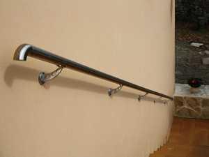 Rampe escalier en inox