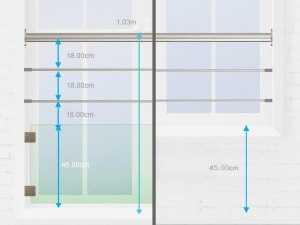 Les normes d'un garde-corps fenêtre