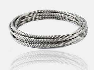 Bobine de câble inox de diamètre 4 mm
