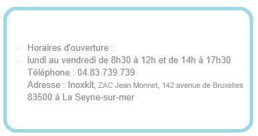 Coordonnées Inoxkit La Seyne