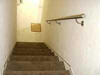 Rampe escalier murale en intérieur