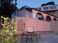 Balustrade en verre sur une résidence principale
